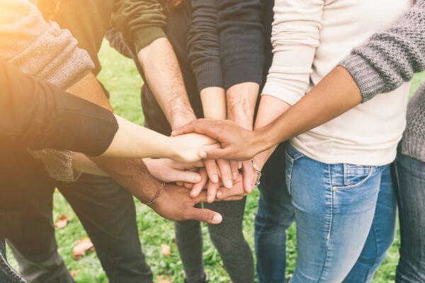 Zusammenhalt Gemeinschaft